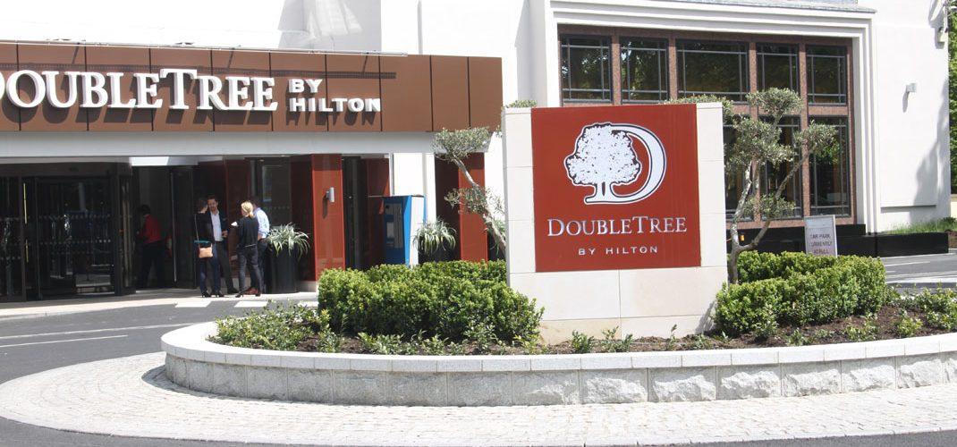 Double Tree Hilton Hotel Entrance Upgrade111