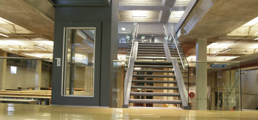 TCD Berkeley Library New Lift & Staircase111